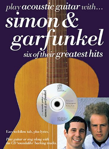 9780711985780: PLAY ACOUSTIC GTR SIMON &+CD: Six of Their Greatest Hits (Play guitar/bass/drum/PF..with)