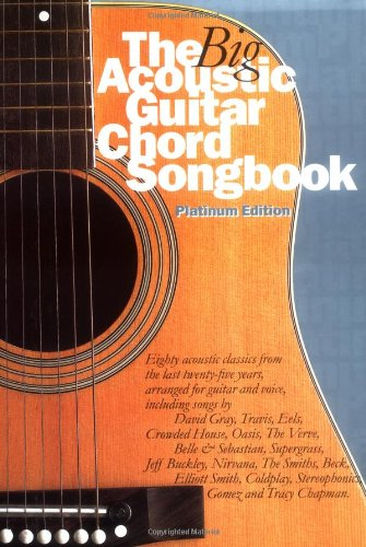 9780711986534: The Big Acoustic Guitar Chord Songbook (Platinum Edition)