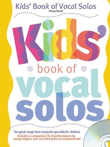 9780711987166: Kids' Book of Vocal Solos Piano, Voix, Guitare +CD