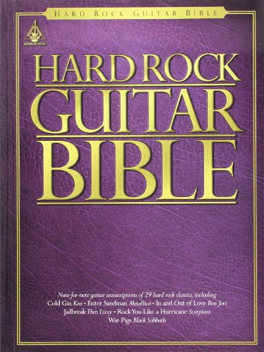 9780711987364: Hard rock guitar bible