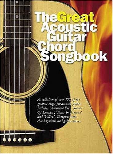 9780711987579: Great Acoustic Guitar Chord Songbook