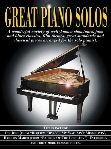 9780711988163: Great Piano Solos Black Book