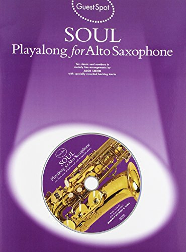 9780711988262: Guest Spot Soul Playalong for Alto Saxophone