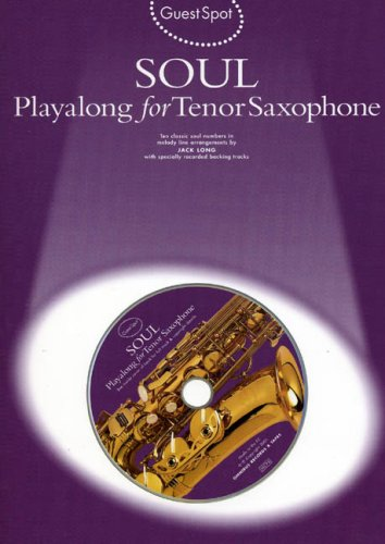 9780711988279: Soul Playalong for Tenor Saxophone