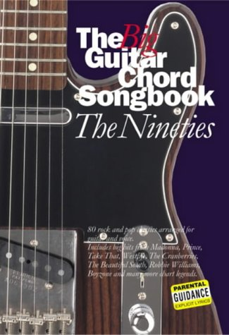 9780711988477: The Big Guitar Chord Songbook The Nineties Lyrics and Chords Book