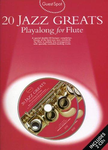 9780711988521: Guest Spot 20 Jazz Greats for Flute + 2Cd