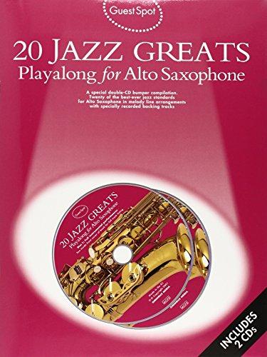 9780711988545: 20 Jazz Greats: Playalong for Alto Saxophone (Guest Spot)
