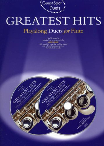 9780711989160: Guest Spot: Greatest Hits Playalong Duets For Flute + cd