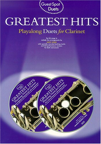 9780711989177: Guest Spot: Greatest Hits Playalong Duets for Clarinet