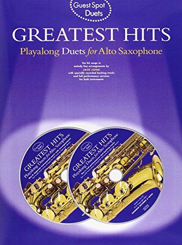 9780711989184: Guest Spot: Playalong Duets for Alto Saxophone (Guest spot duets)