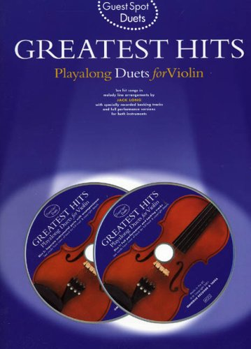 9780711989191: Greatest Hits: Playalong Duets for Violin (Guest spot duets)