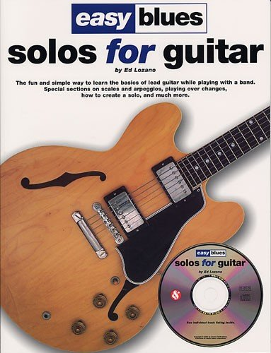9780711989801: Easy Blues Solos for Guitar: The Fun and Simple Way to Learn the Basics of Lead Guitar While Playing with a Band