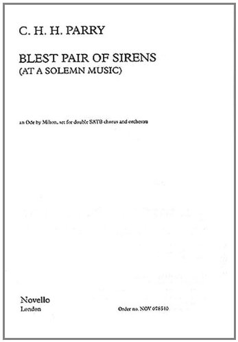 9780711990852: Blest Pair of Sirens: (Vocal Score)