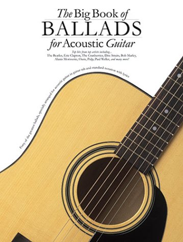 9780711991323: The Big Book of Ballads for Acoustic Guitar Tab