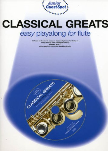 9780711991439: Junior Guest Spot: Classical Greats - Easy Playalong Flute + cd