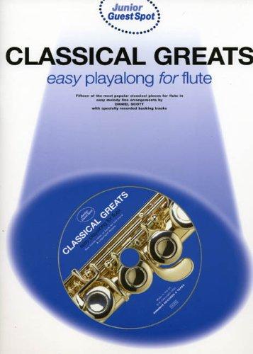 9780711991439: JUNIOR GUEST SPOT CLASSICAL GREATS: FLUTE W/CD
