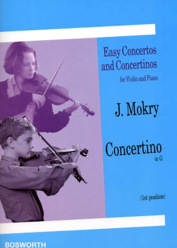 9780711991668: Jiri Mokry: Concertino in G (Violin/Piano)