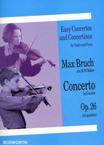 9780711991910: Concerto en sol mineur Opus 26 --- Violon/Piano