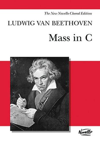 Mass in C: Vocal Score: Ludwig van Beethoven