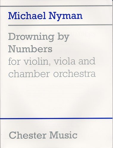 9780711992412: Nyman: Drowning By Numbers (Study Score)