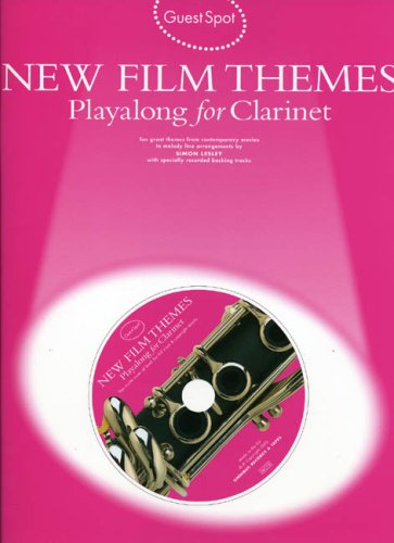 9780711992597: New Film Themes: Playalong for Clarinet (Guest Spot Series)