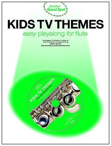 9780711992672: Junior Guest Spot: Kids TV Themes - Easy Playalong (flute)