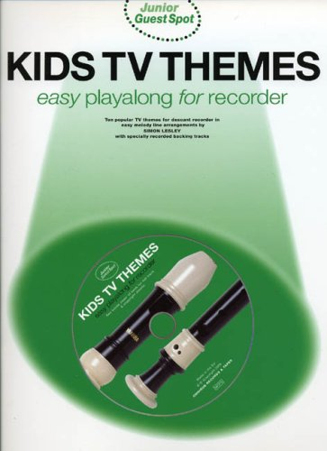 9780711992689: Junior Guest Spot: Kids TV Themes - Easy Playalong (Recorder)