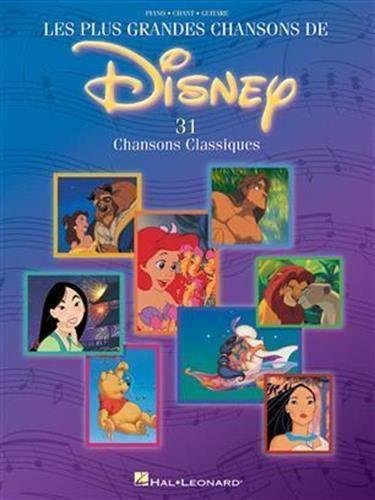 9780711993037: Les Plus Grandes Chansons De Disney: 31 Chansons Classiques
