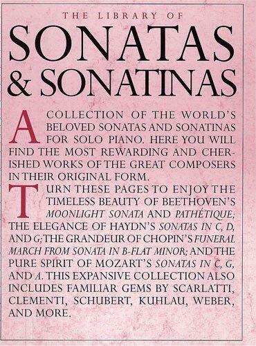 9780711994669: The Library of Sonatas & Sonatinas