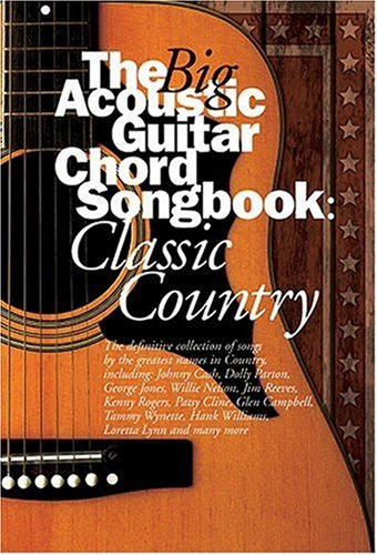 9780711995451: The Big Acoustic Guitar Chord Songbook: Classic Country