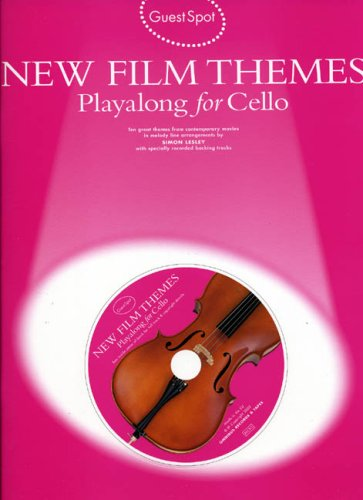 9780711995970: New Film Themes Playalong for Cello