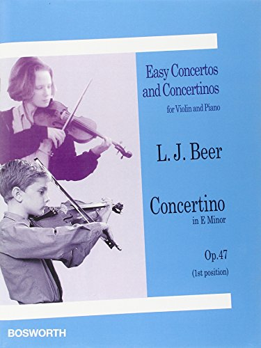 9780711996212: Concertino in E minor. Op. 47. Easy Concertos and Concertinos for Violin and Piano