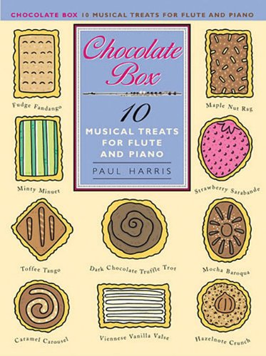 9780711996441: Paul Harris: Chocolate Box - 10 Musical Treats for Flute and Piano: For Flute and Piano Accompaniment