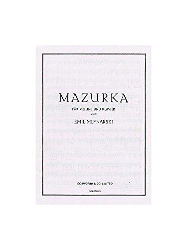 9780711996502: Emil Mlynarski: Mazurka for Violin and Piano