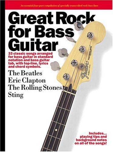 9780711997233: Great Rock for Bass Guitar