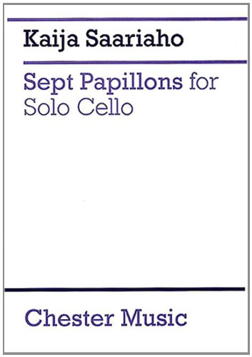 SEPT PAPILLONS FOR SOLO CELLO: MUSIC SALES AMERICA