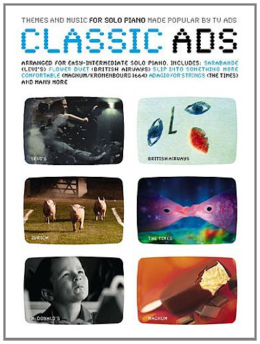 9780711997462: Classic Ads for Solo Piano