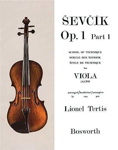 9780711997707: Sevcik Op. 1, Part 1: for Viola, School of Technique
