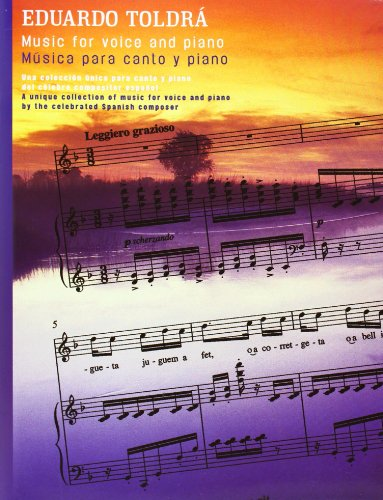 9780711998186: TOLDRA MUSIC FOR VOICE AND PIANO