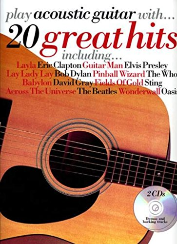 9780711998599: Play Acoustic Guitar  20 Great Hits (2cd)