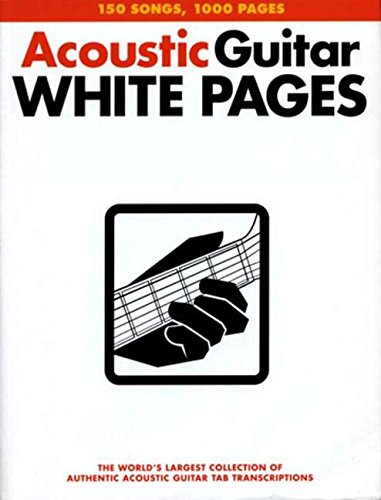 9780711998612: Acoustic Guitar White Pages