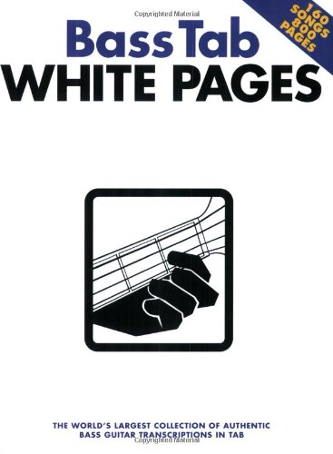 9780711998629: Bass tab white pages guitare