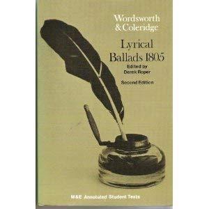 9780712101400: Wordsworth and Coleridge Lyrical Ballads 1805 (M & E annotated student texts)