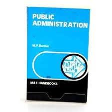 9780712101974: Public Administration (ISE)