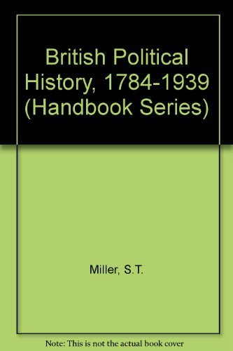 9780712102568: British Political History, 1784-1939 (Handbook Series)