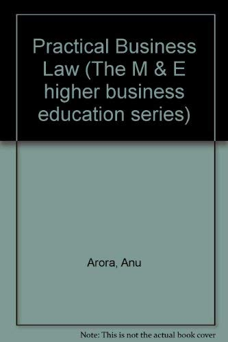 9780712104630: Practical Business Law