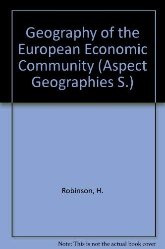 """Geography of the Eec: A Systematic Economic Approach (""""Aspect"""" geographies): Bamford, ..."""