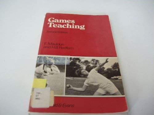 9780712107396: Games Teaching: An Approach for the Primary School