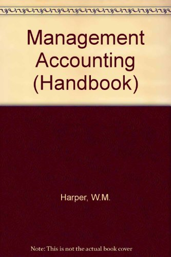 9780712107808: Management Accounting (Handbook)