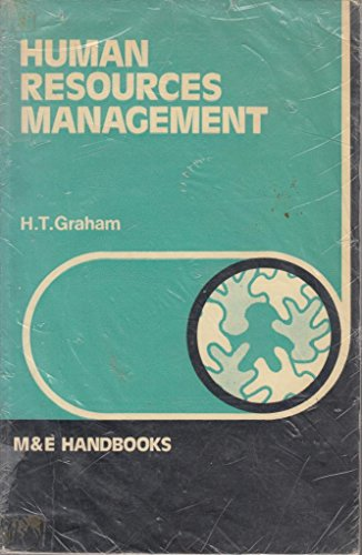 Human Resources Management (Handbook Series): Graham, H.T.